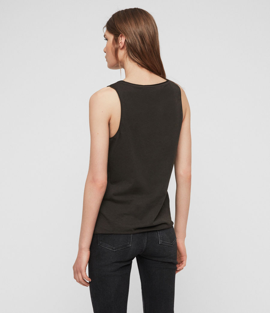 Womens Emelyn Tonic Tank (washed_black) - Image 5