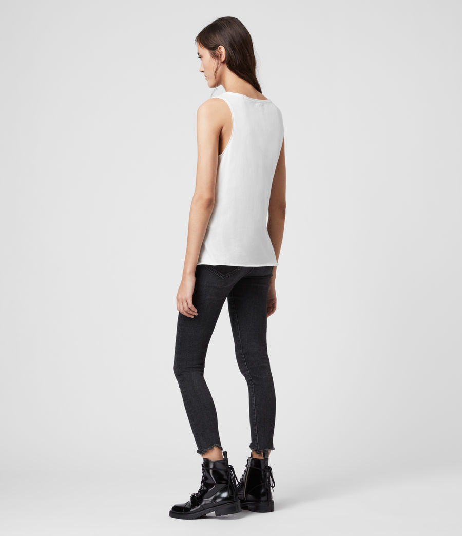 Womens Emelyn Tonic Tank (chalk_white) - Image 4