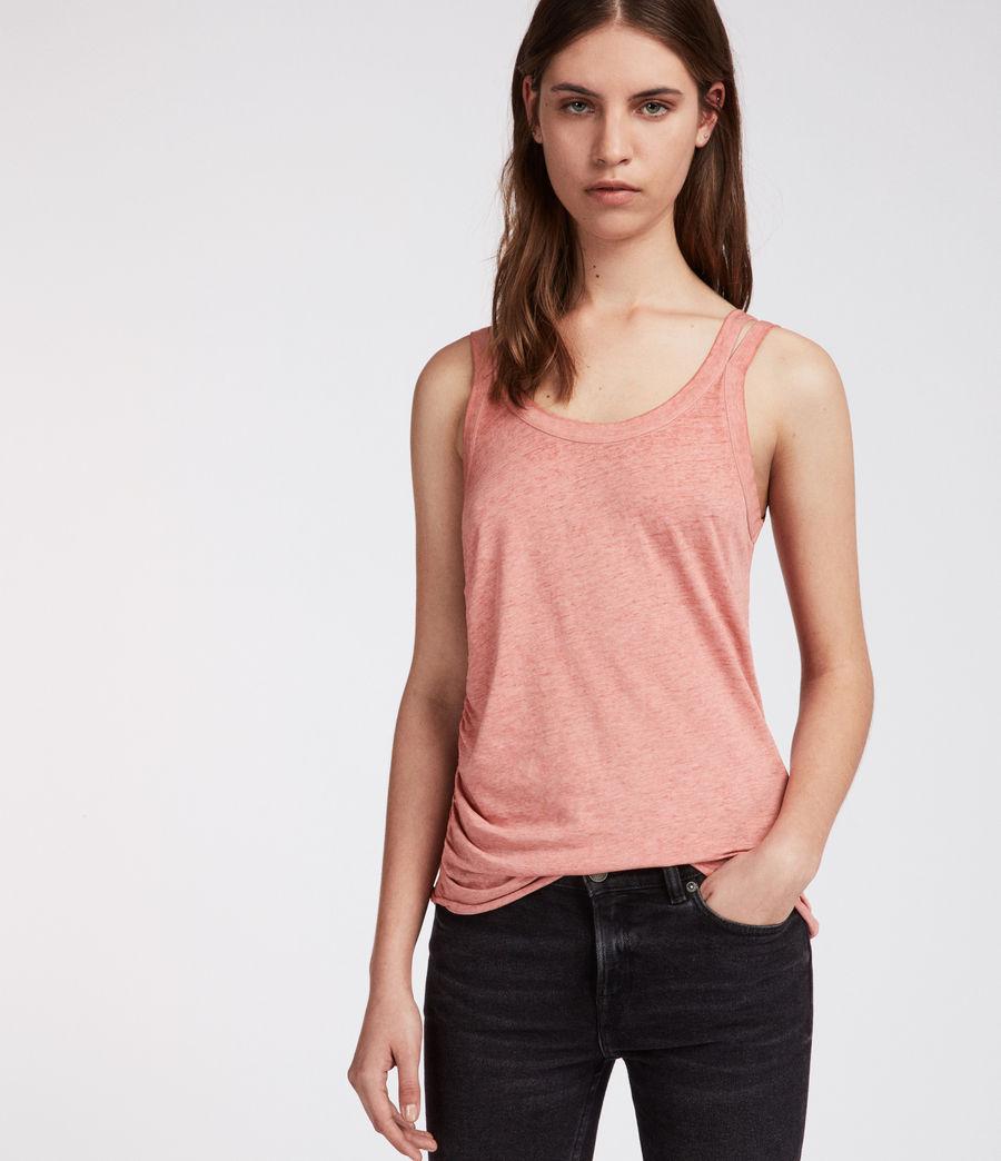 Mujer Camiseta Tina Devo (light_orchid_pink) - Image 1