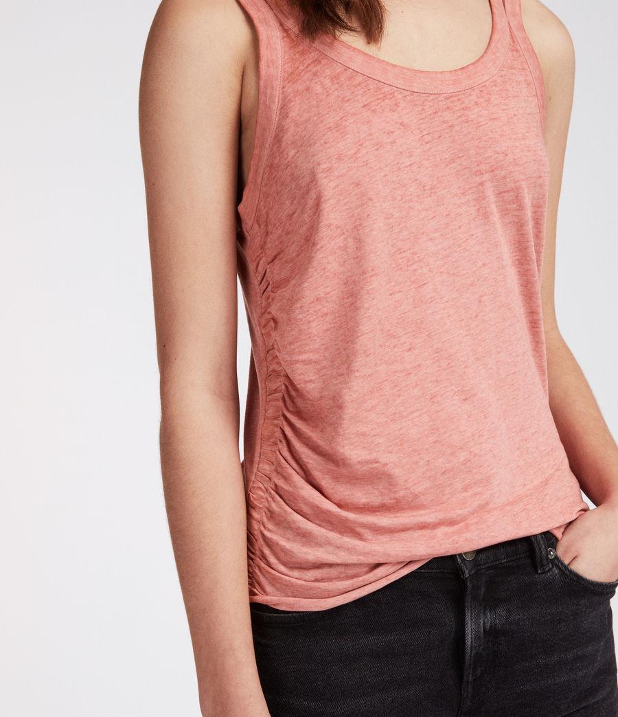 Mujer Camiseta Tina Devo (light_orchid_pink) - Image 2