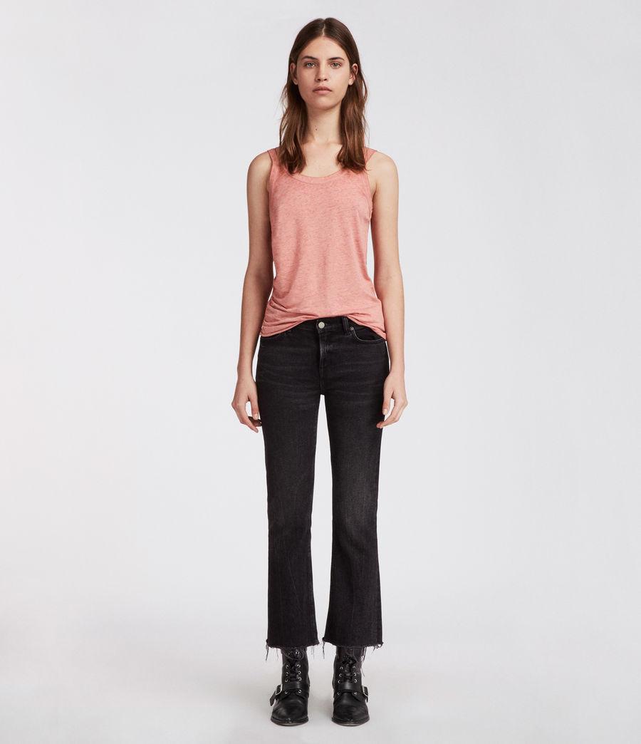 Mujer Camiseta Tina Devo (light_orchid_pink) - Image 3