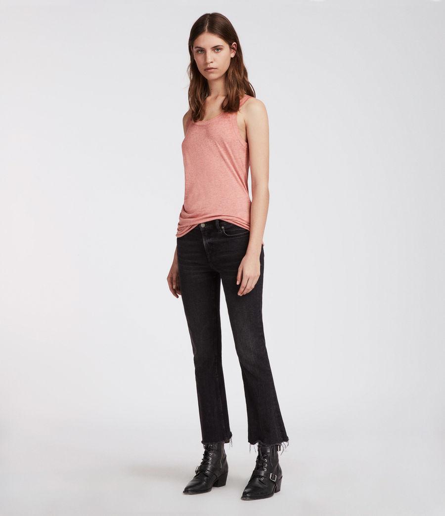 Mujer Camiseta Tina Devo (light_orchid_pink) - Image 4