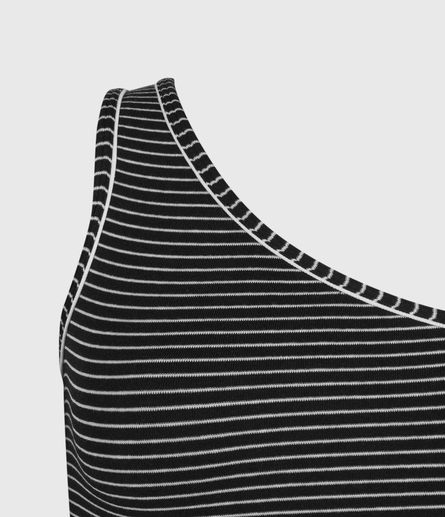 Women's Freyla Stripe Bodysuit (black_chalk) - Image 3