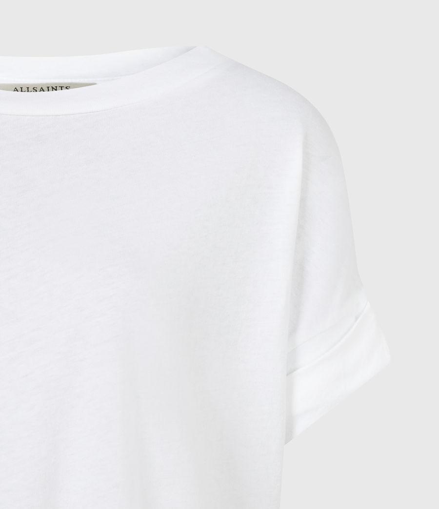 Femmes T-Shirt en Coton Pur Imogen (optic_white) - Image 5