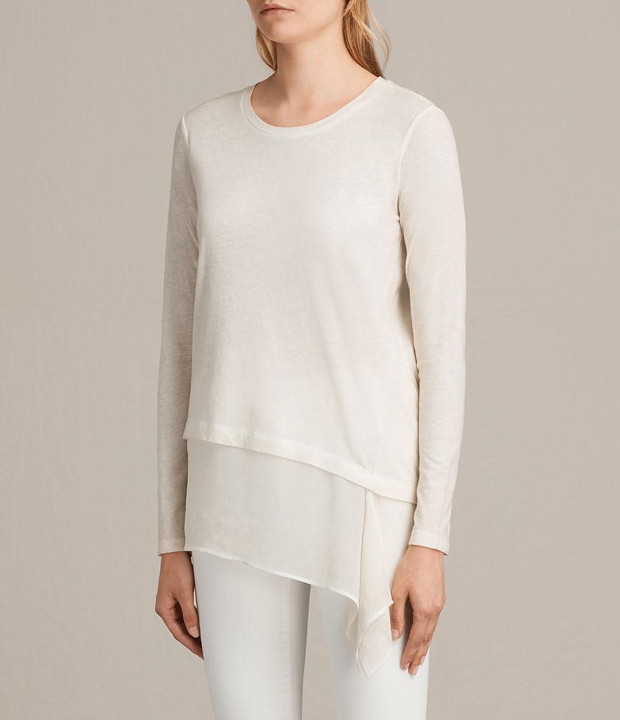 Donne T-shirt Lauryn Miro (vanilla_wht_chalk) - Image 2