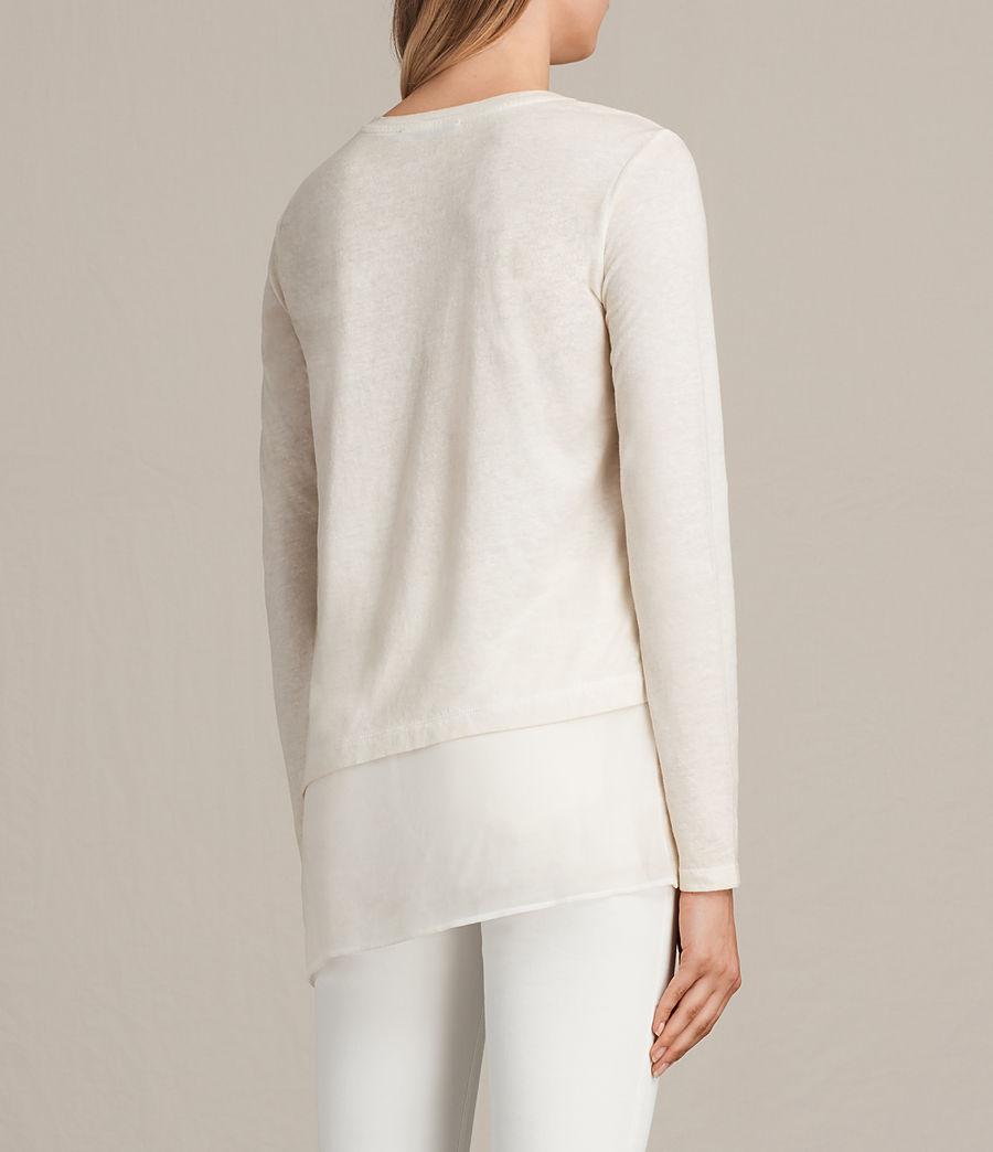 Donne T-shirt Lauryn Miro (vanilla_wht_chalk) - Image 3