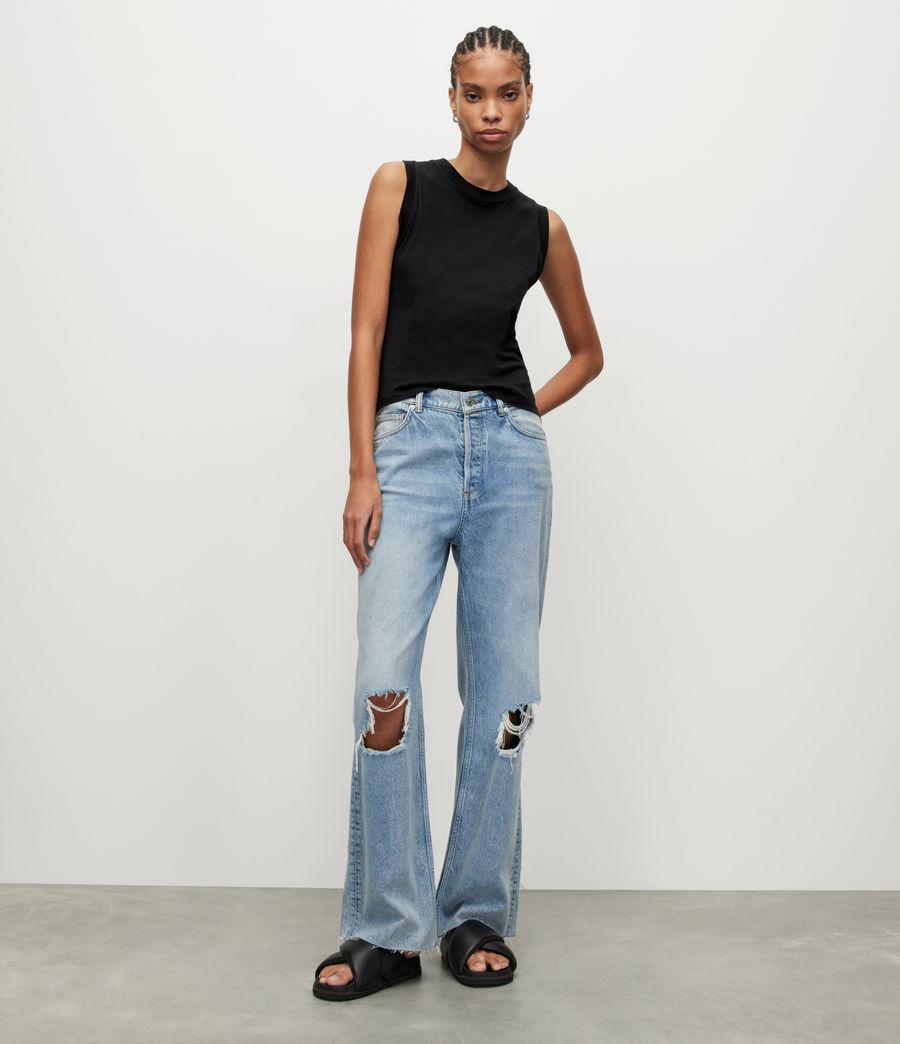 Mujer Camiseta sin Mangas Imogen (black) - Image 4