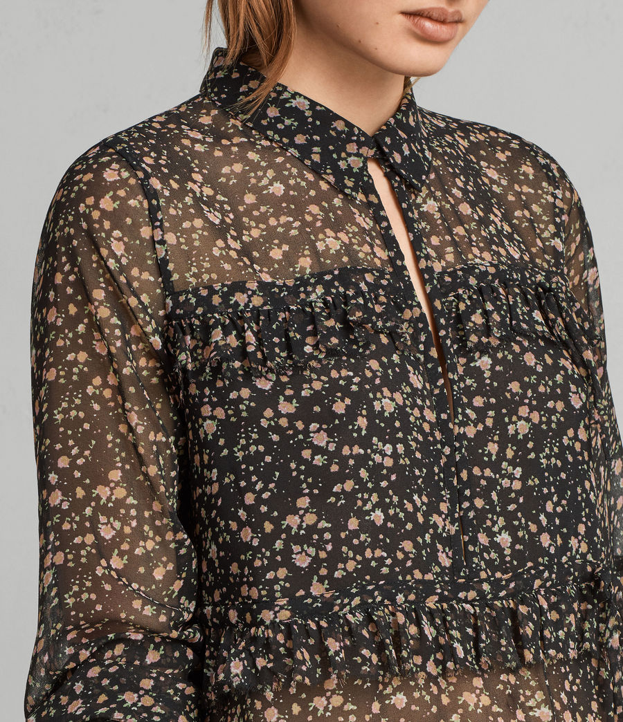 Womens Deirdre Pepper Shirt (black) - Image 2