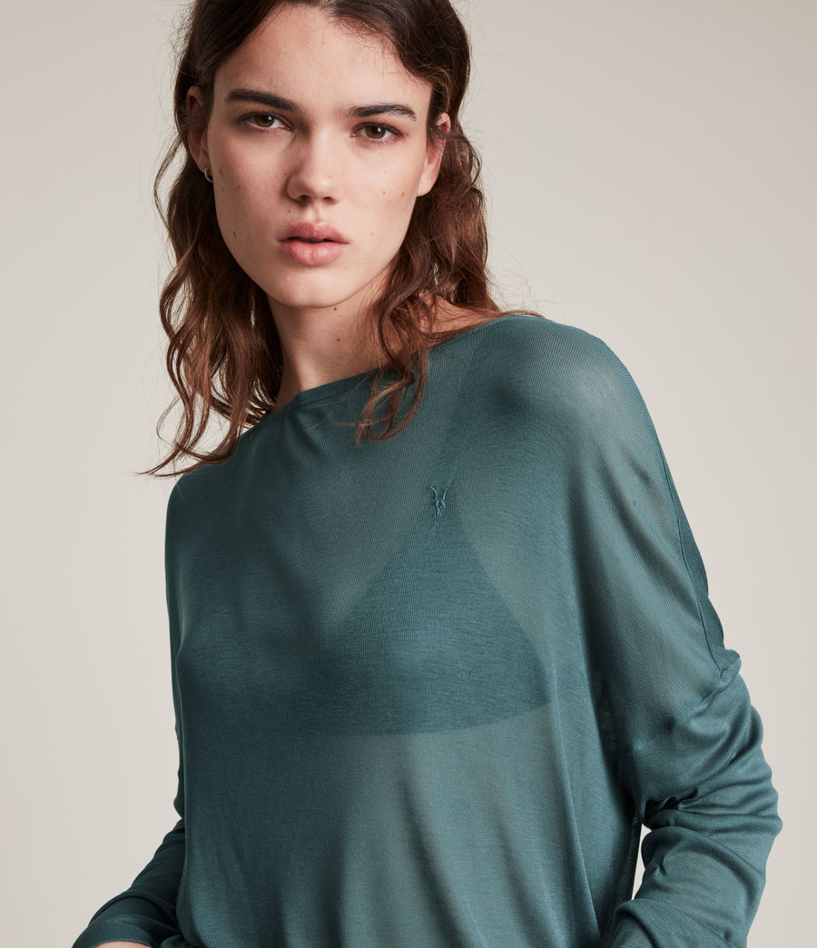 Women's Francesco Rita T-Shirt (flint_blue) - Image 2