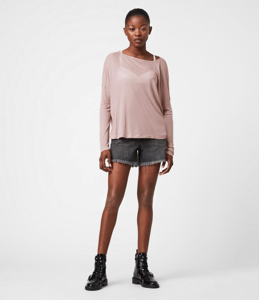 Women's Francesco Rita T-Shirt (morning_mauve) - Image 4
