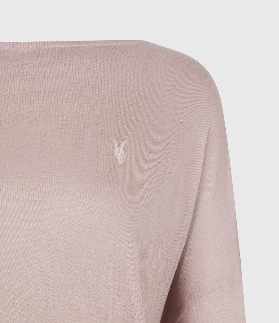 Women's Francesco Rita T-Shirt (morning_mauve) - Image 5