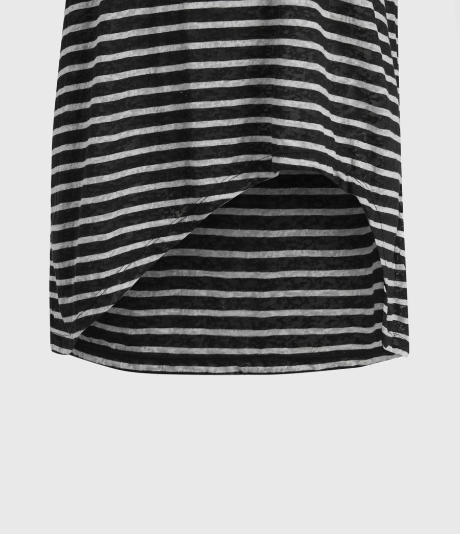Womens Sanza Stripe Tank (black_chalk) - Image 4
