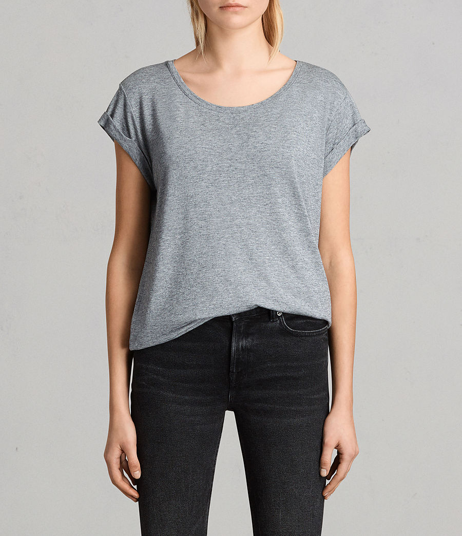 Womens Alisee T-Shirt (pepper_black) - Image 1