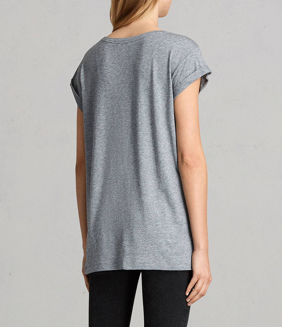Women's Alisee T-Shirt (pepper_black) - Image 3