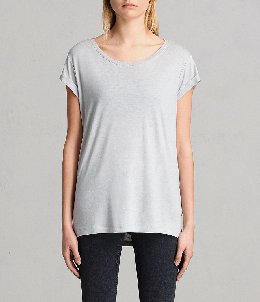 Women's Alisee T-Shirt (storm_grey) - Image 1