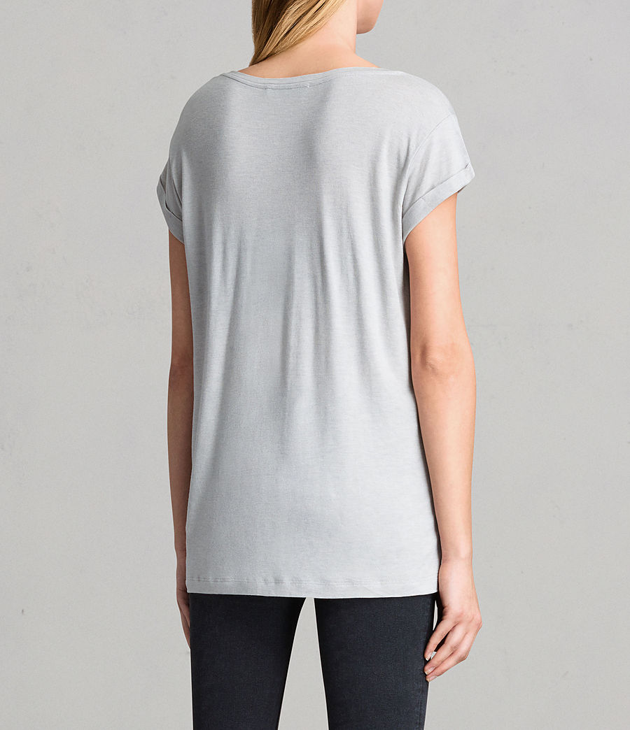 Women's Alisee T-Shirt (storm_grey) - Image 3