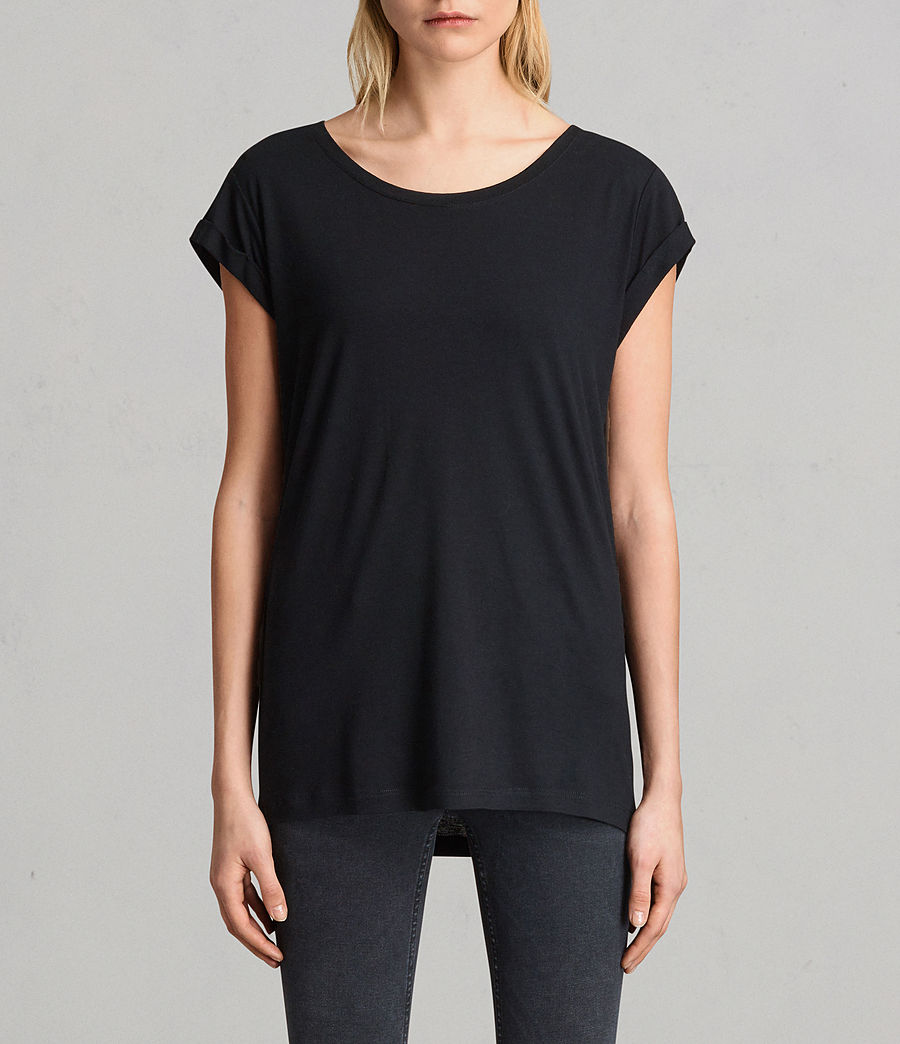 Womens Alisee T-Shirt (black) - Image 1