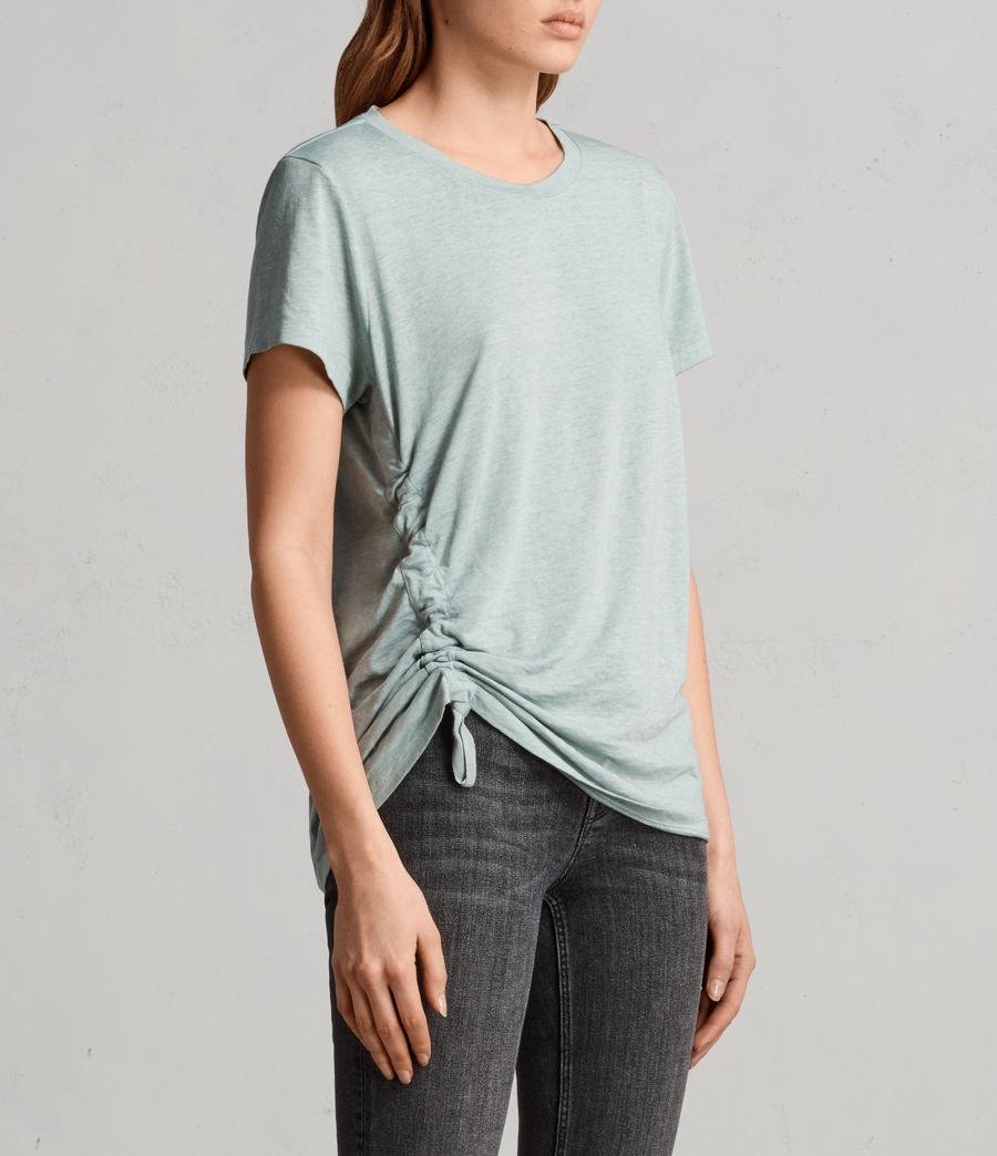 Womens Arie Devo Tee (mint_green) - Image 3