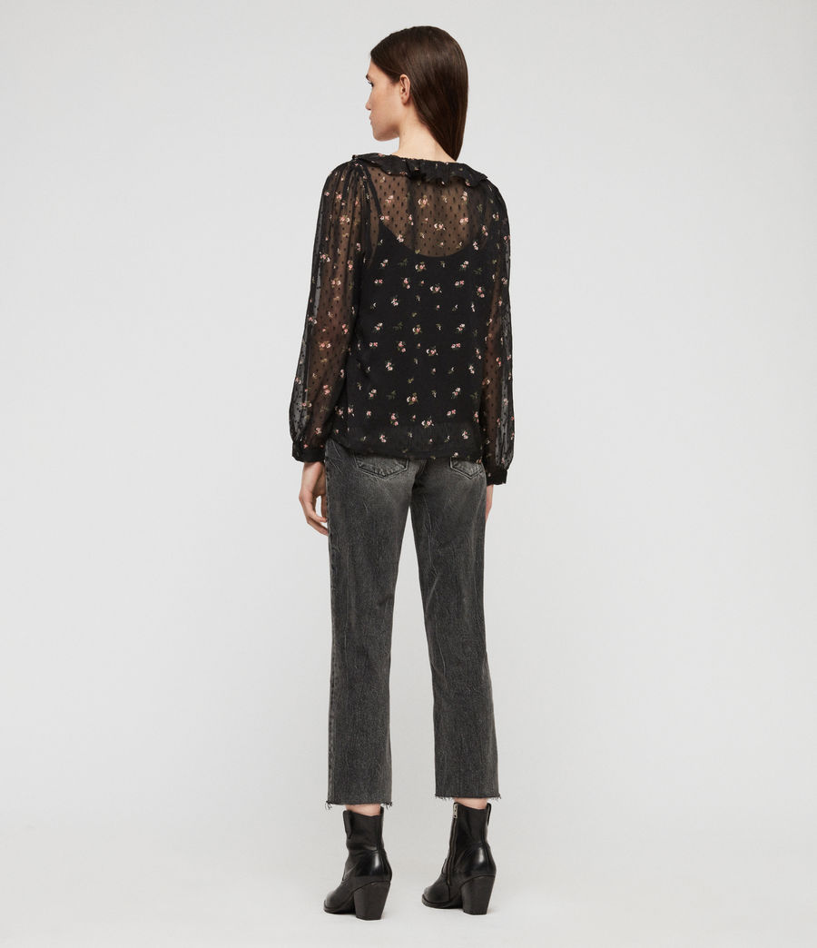 Women's Ari Aster Top (black) - Image 4