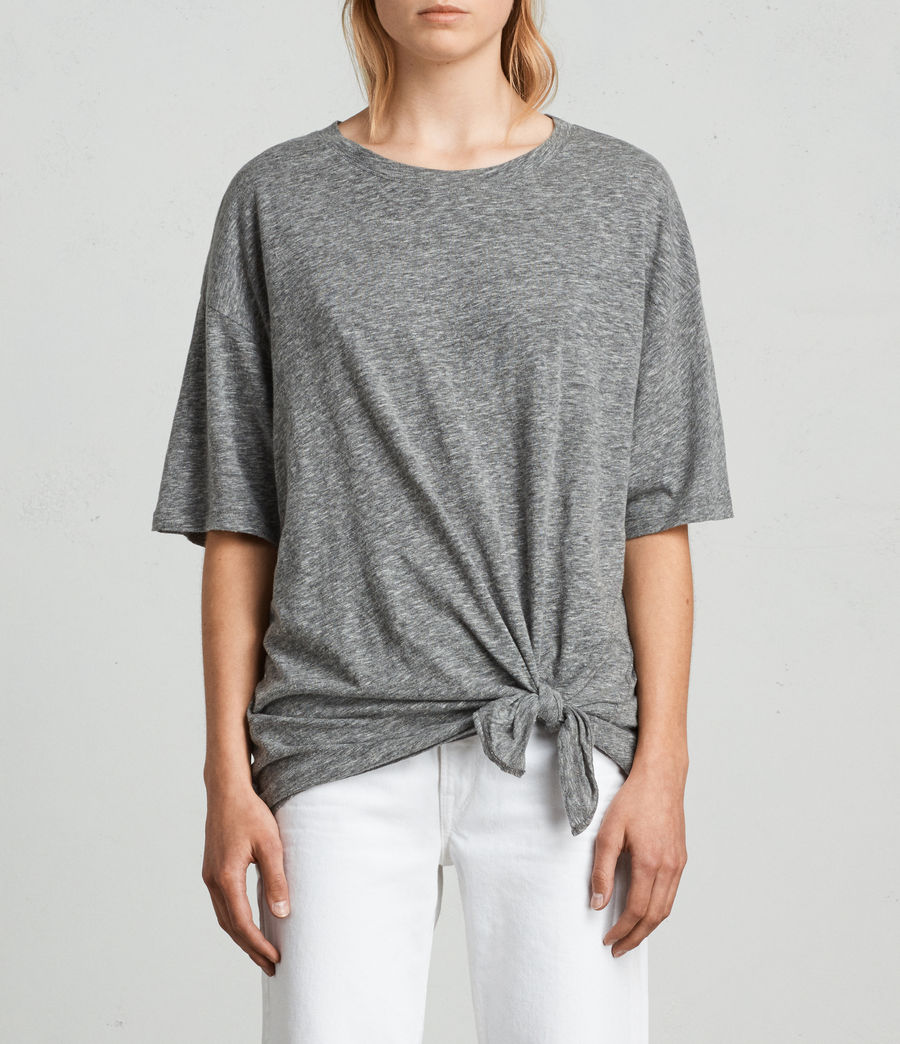 Womens Meli Flame T-Shirt (cinder_marl) - Image 1