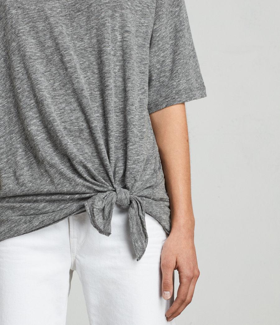 Womens Meli Flame T-Shirt (cinder_marl) - Image 2