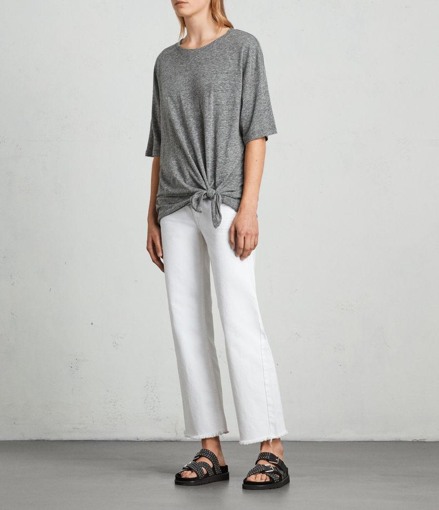 Womens Meli Flame T-Shirt (cinder_marl) - Image 3
