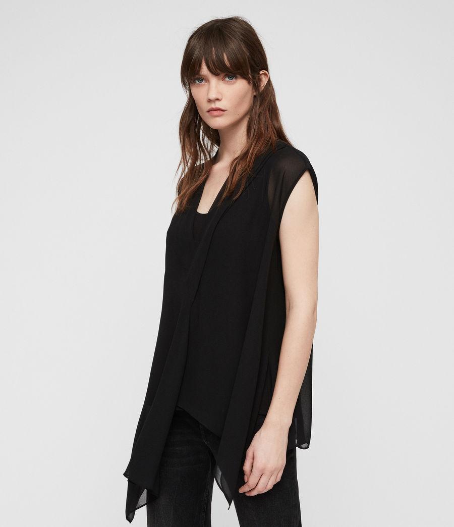 Women's Kery Top (black) - Image 1