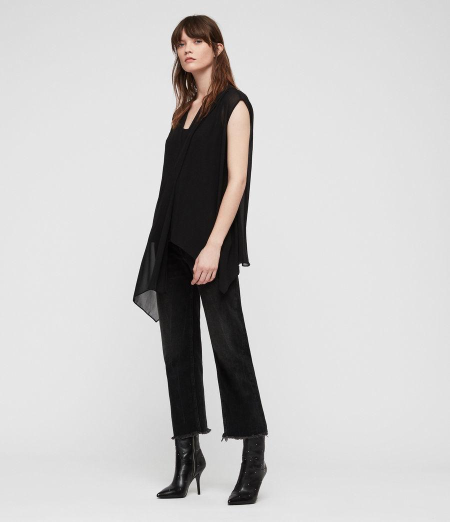 Women's Kery Top (black) - Image 3