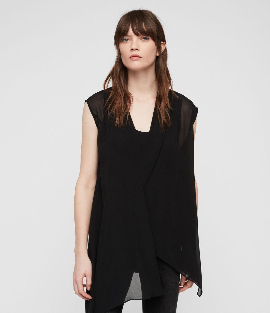Women's Kery Top (black) - Image 4
