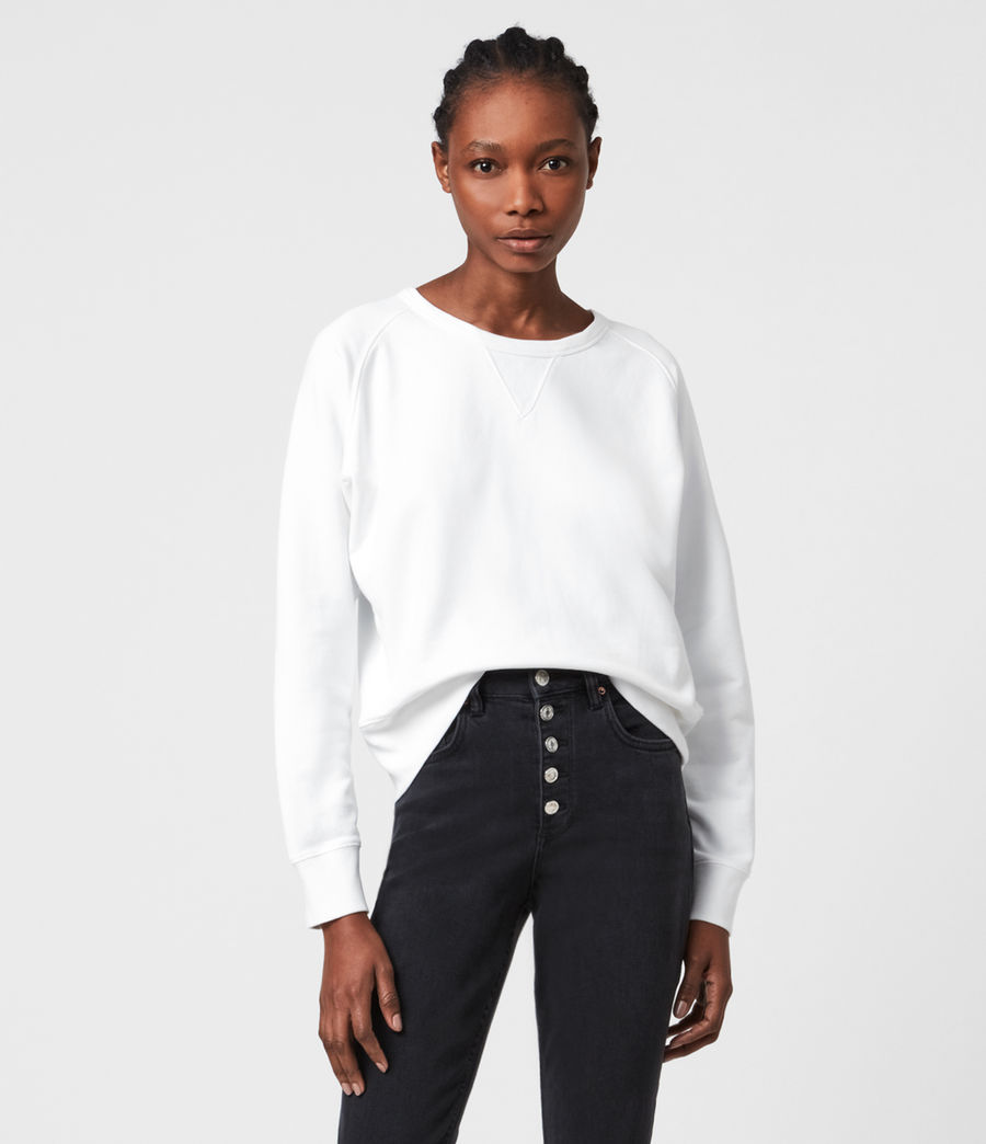 Women's Deecie Sweatshirt (optic_white) - Image 1