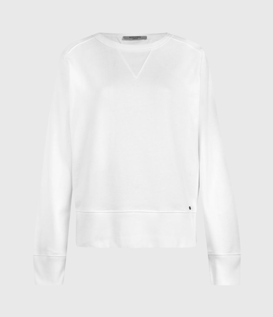 Womens Deecie Sweatshirt (optic_white) - Image 2