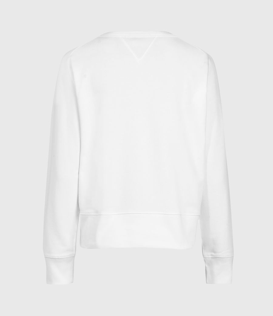Women's Deecie Sweatshirt (optic_white) - Image 3