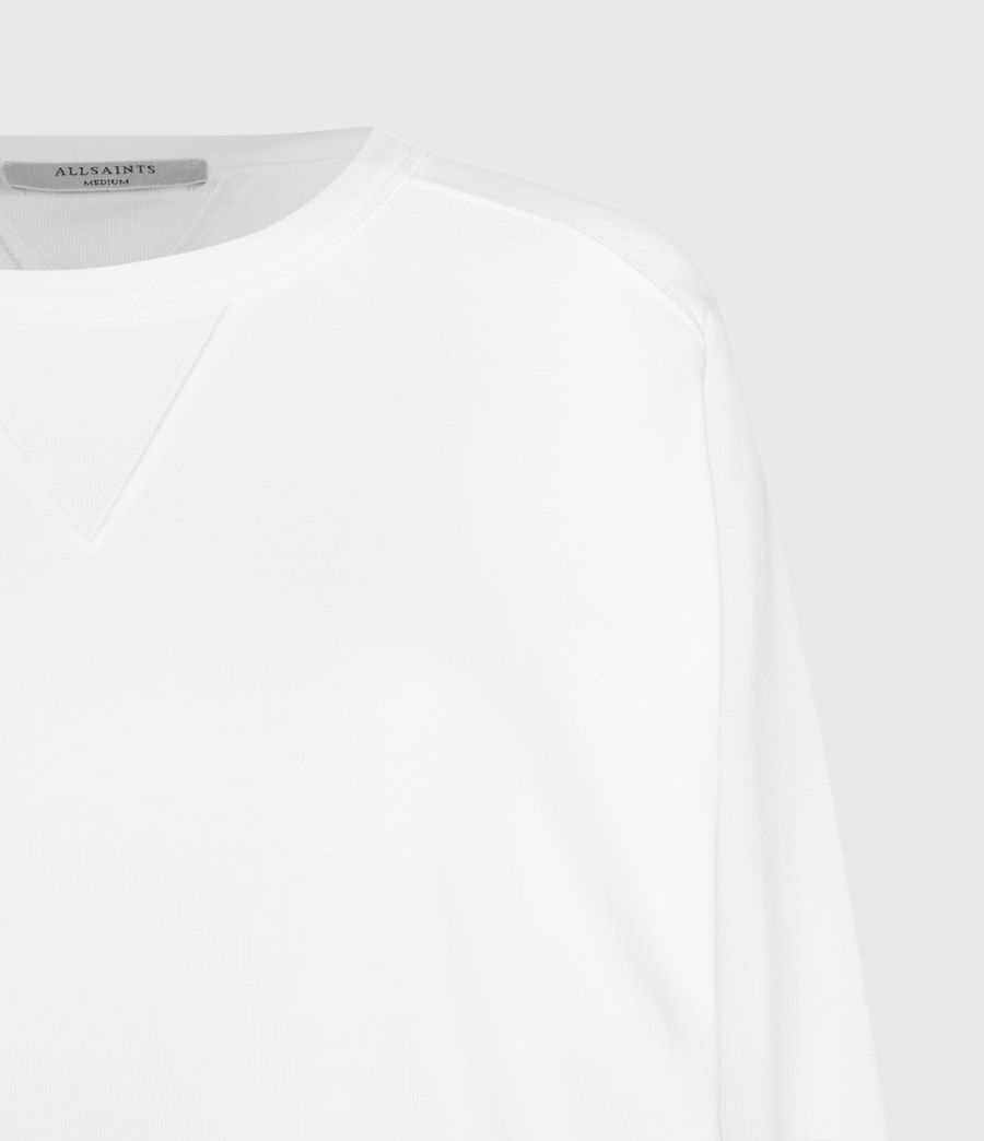 Women's Deecie Sweatshirt (optic_white) - Image 4