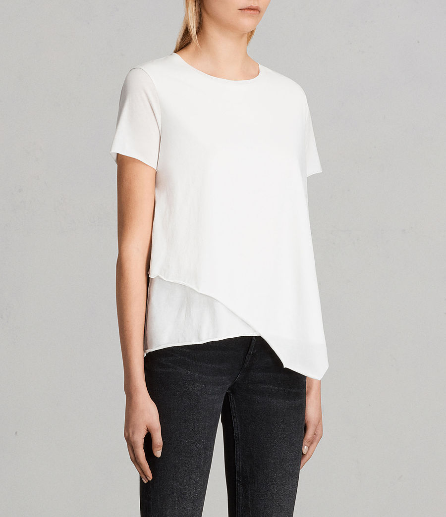 Damen Daisy T-Shirt (Chalk White) - Image 2