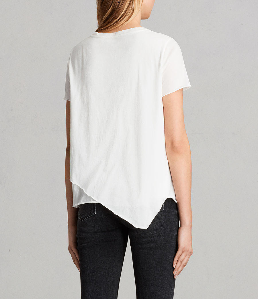 Damen Daisy T-Shirt (Chalk White) - Image 3