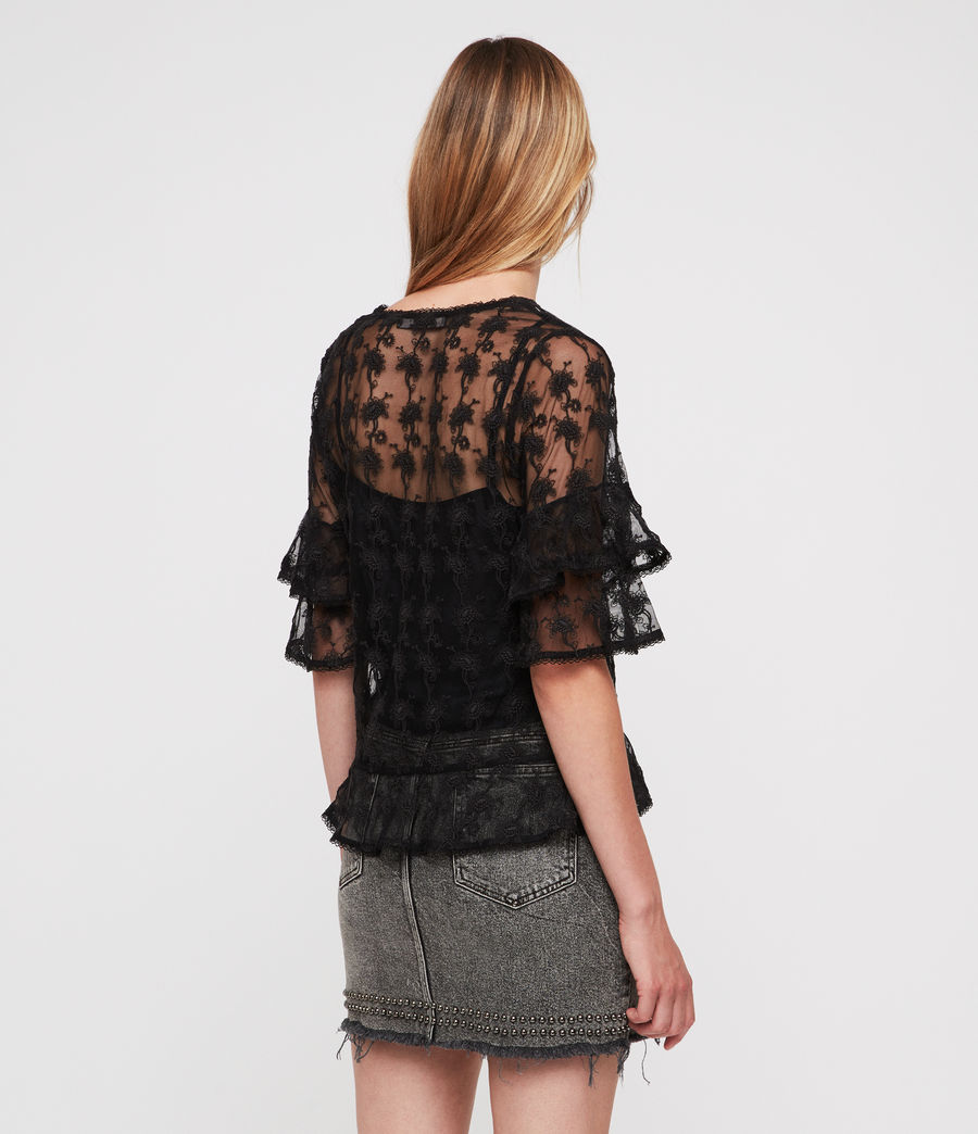 Damen Lula Nisha Top (black) - Image 4