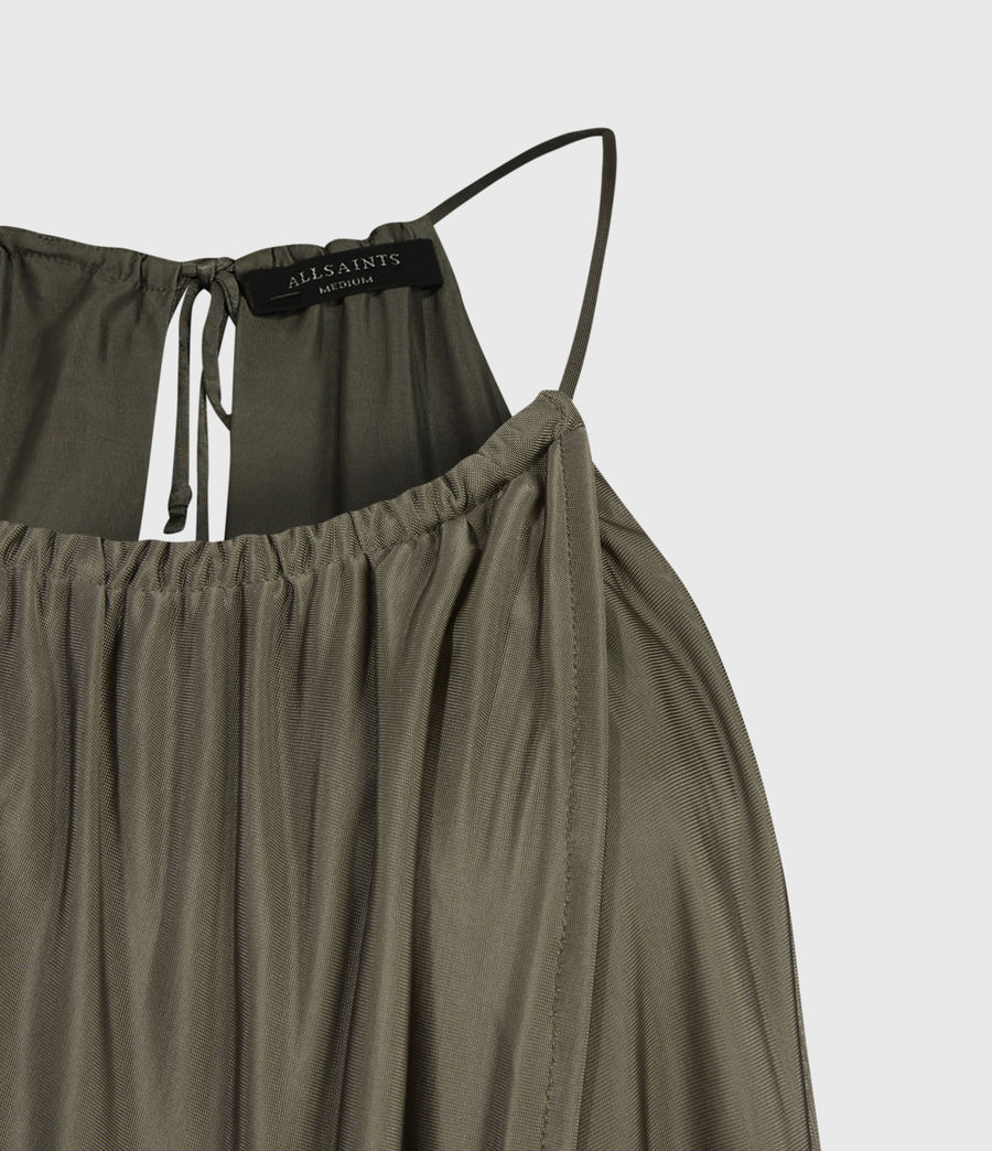 Womens Erin Cami (utility_green) - Image 5