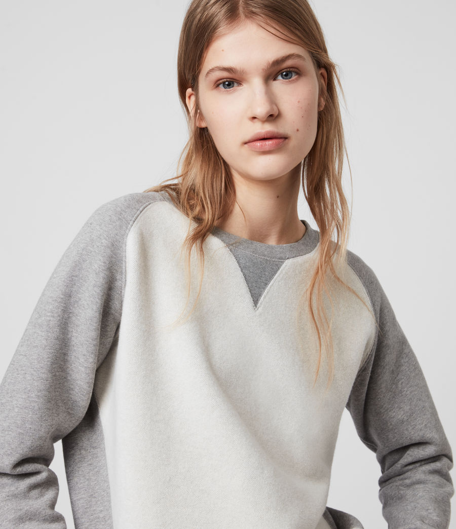 Women's Deecie Mix Sweatshirt (grey_marl) - Image 1