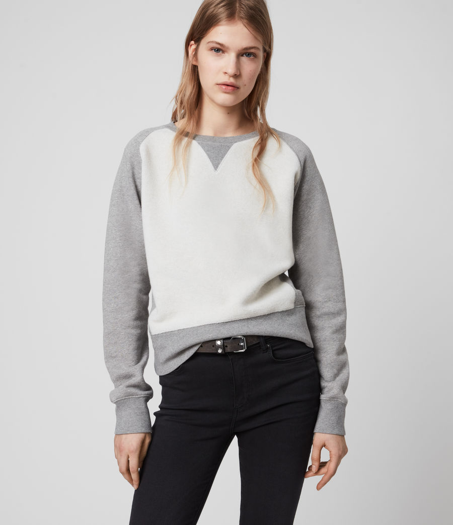 Women's Deecie Mix Sweatshirt (grey_marl) - Image 2