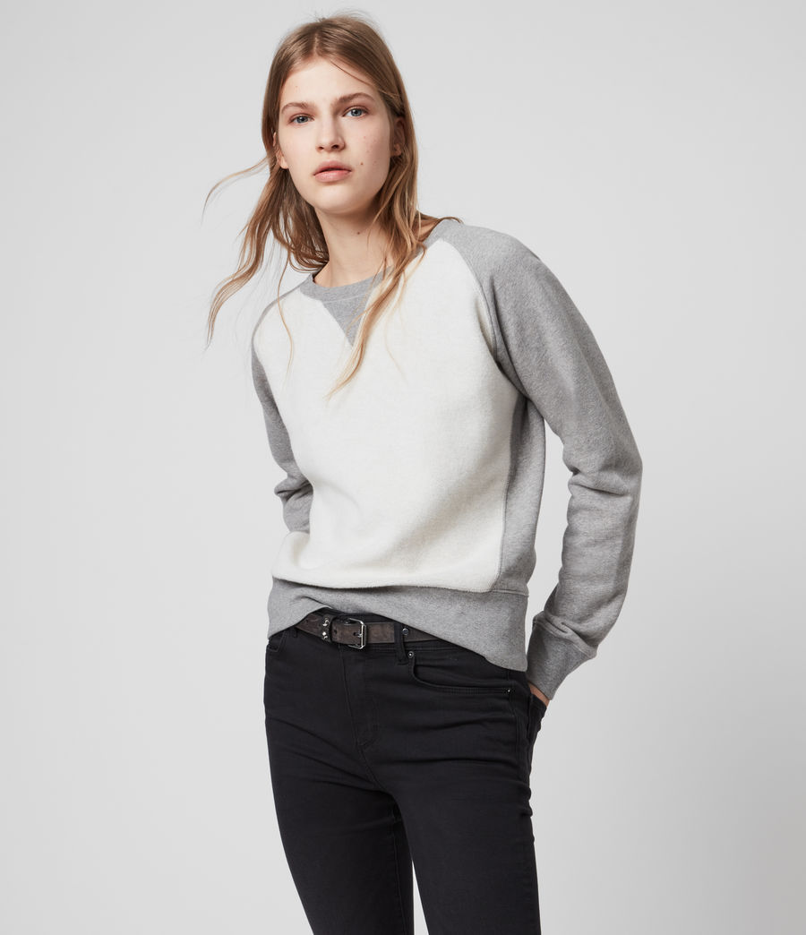 Women's Deecie Mix Sweatshirt (grey_marl) - Image 4