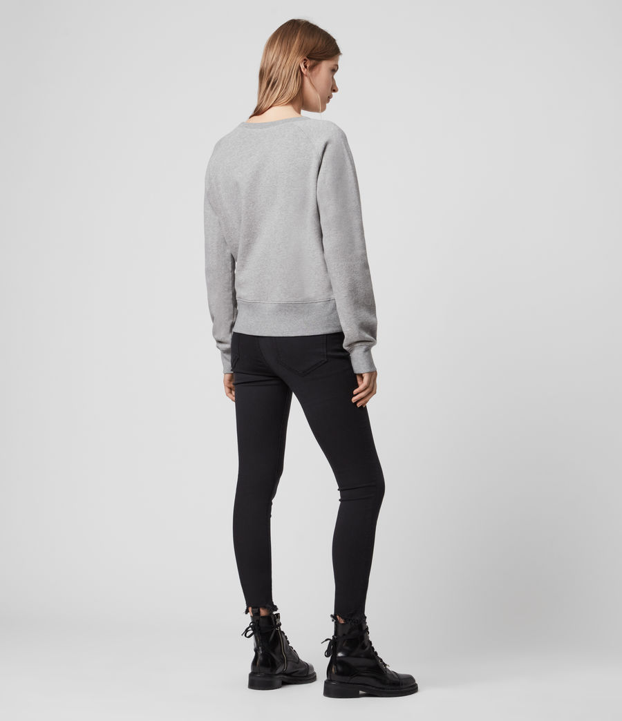 Women's Deecie Mix Sweatshirt (grey_marl) - Image 5