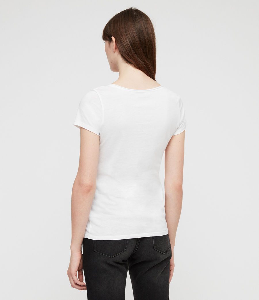 Women's Vetten T-Shirt (optic_white) - Image 4