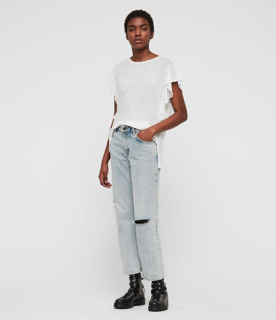 Women's Darno T-Shirt (smog_white) - Image 1
