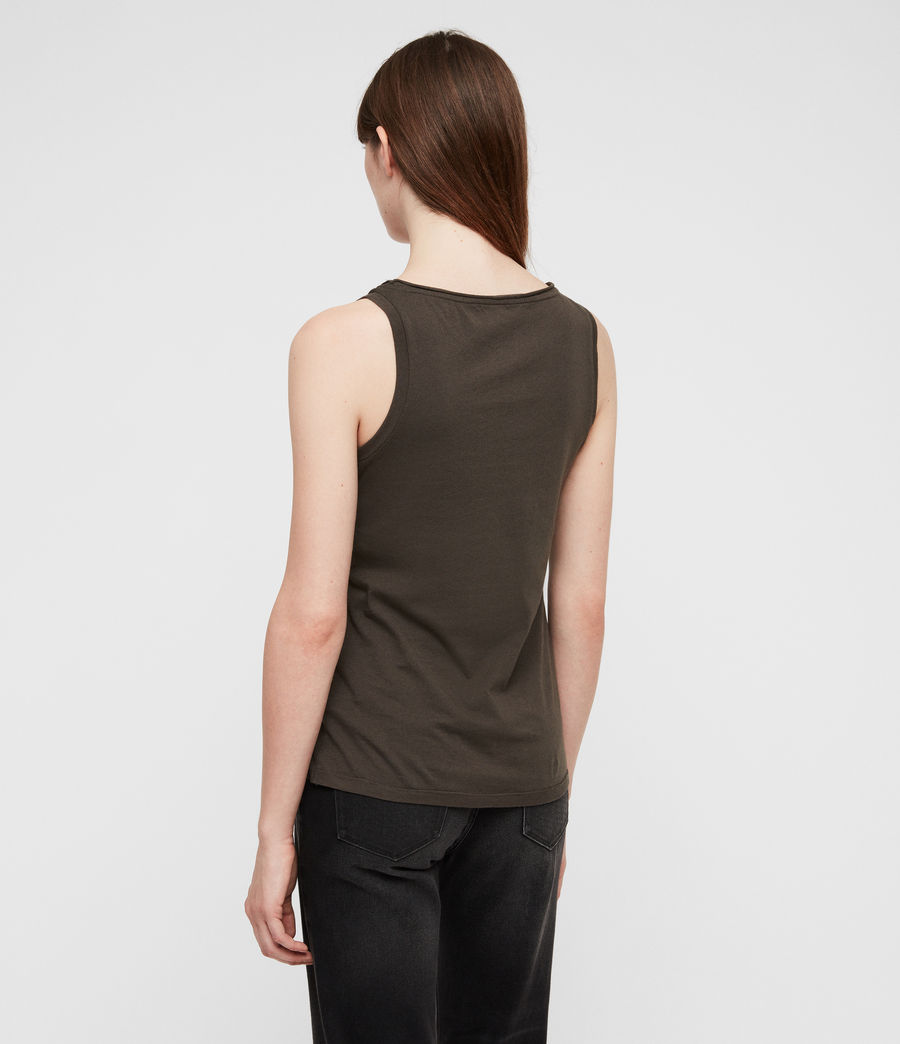 Women's Vetten Tank (washed_black) - Image 5