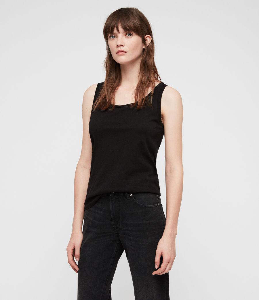 Femmes Débardeur Vetten (black) - Image 1