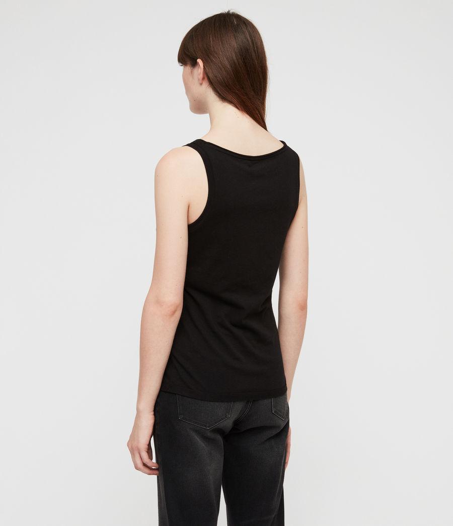 Mujer Camiseta sin tirantes Vetten (black) - Image 4