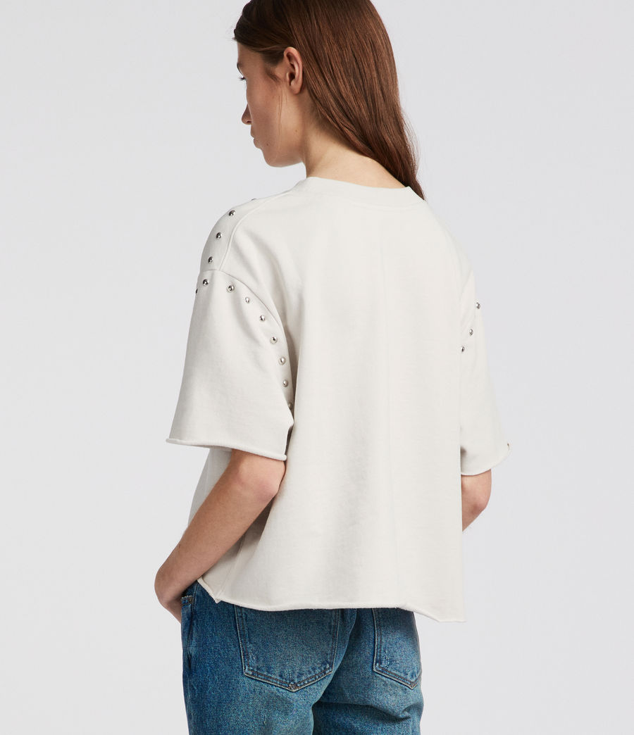 Womens Simmi Sweat (ivory_white) - Image 4