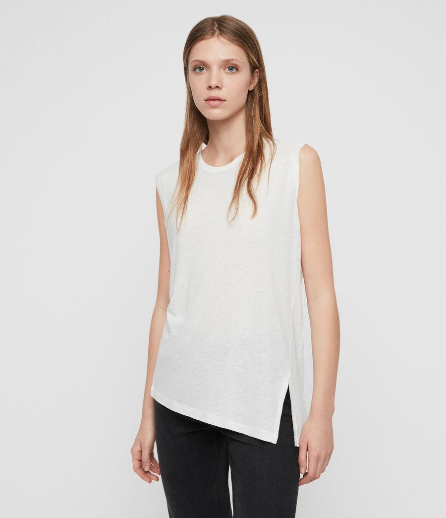 Damen Saanya Tanktop (chalk_white) - Image 1