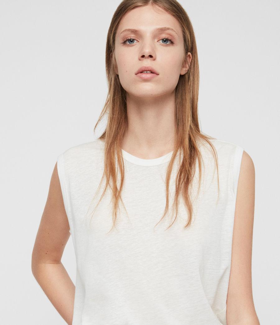 Damen Saanya Tanktop (chalk_white) - Image 2