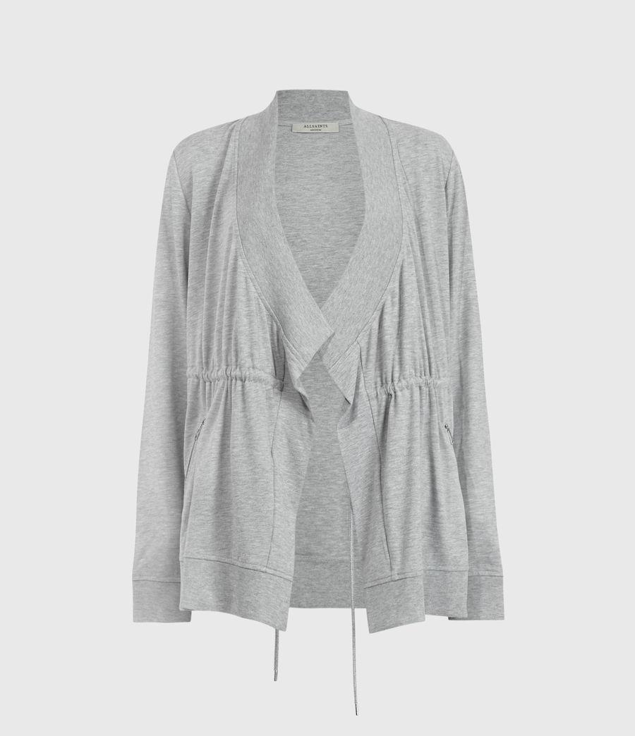 Women's Gina Drape Jacket (grey_melange) - Image 1